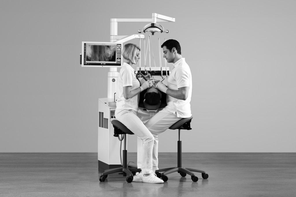 salle de soins dental wave. Black Bedroom Furniture Sets. Home Design Ideas